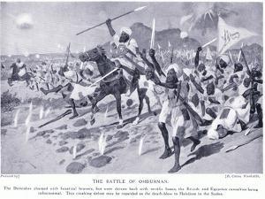 The Battle of Omdurman 1898 Ad, C.1920 by Richard Caton Woodville II