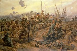 The Battle of the Somme by Richard Caton Woodville II