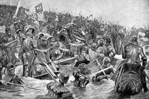 The Battle of Towton, 29 March 1461 by Richard Caton Woodville II