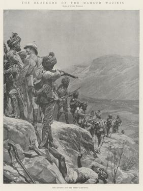 The Blockade of the Mahsud Waziris by Richard Caton Woodville II