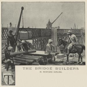 The Bridge Builders by Richard Caton Woodville II