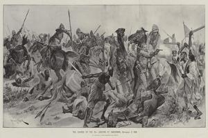 The Charge of the 21st Lancers at Omdurman, 2 September 1898 by Richard Caton Woodville II