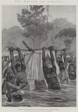 The Revolt in Ashanti by Richard Caton Woodville II