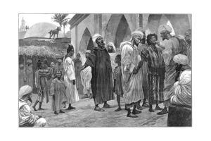 The Slave Market in Morocco, 1888 by Richard Caton Woodville II