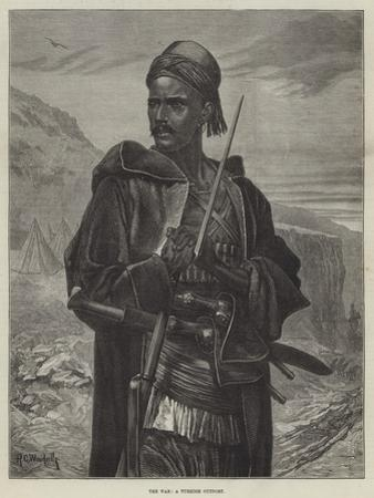 The War, a Turkish Outpost by Richard Caton Woodville II