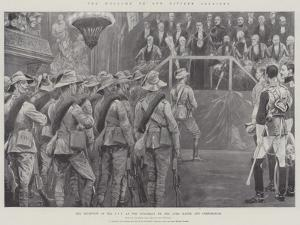 The Welcome to Our Citizen Soldiers by Richard Caton Woodville II