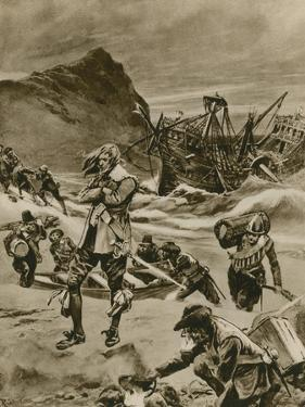 The Wreck That Gave Britain the Bermudas by Richard Caton Woodville II