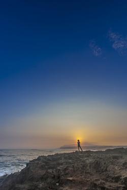 Shoreline Sunrise, from Kaehu Point, Mo'Omomi Preserve, Nature Conservancy, Molokai, Hawaii by Richard Cooke III