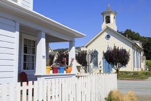 1872 United Methodist Church, Half Moon Bay, California, United States of America, North America by Richard Cummins
