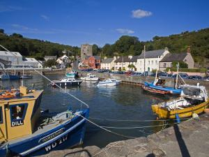 Ballyhack Fishing Village, County Wexford, Leinster, Republic of Ireland, Europe by Richard Cummins