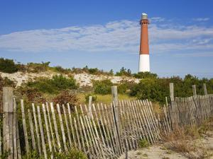 Barnegat Lighthouse in Ocean County, New Jersey, United States of America, North America by Richard Cummins