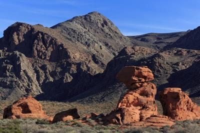 Beehives area, Valley of Fire State Park, Overton, Nevada, United States of America, North America by Richard Cummins