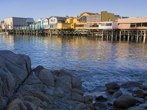 Breakwater Cove and Fisherman's Wharf, Monterey, California, United States of America, North Americ by Richard Cummins