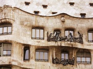 Casa Mila (La Pedrera) By Gaudi, UNESCO World Heritage Site, Barcelona, Catalonia, Spain, Europe by Richard Cummins