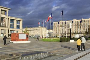 City Hall Gardens, Le Havre, Normandy, France, Europe by Richard Cummins