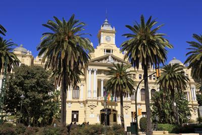 City Hall, Malaga, Andalusia, Spain, Europe by Richard Cummins