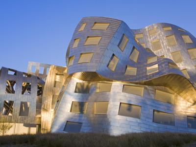 Cleveland Clinic Lou Ruvo Center For Brain Health, Architect Frank Gehry, Las Vegas, Nevada, USA by Richard Cummins