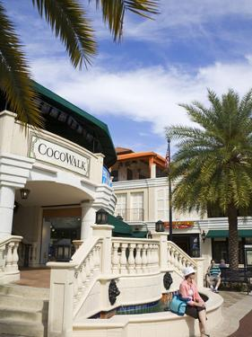 Cocowalk Shopping Mall in Coconut Grove, Miami, Florida, United States of America, North America by Richard Cummins