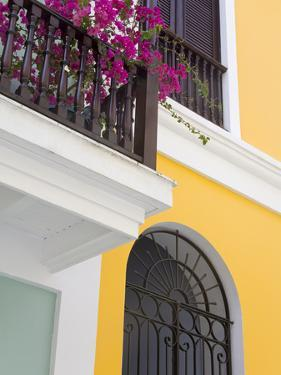 Colonial Buildings in Old City of San Juan, Puerto Rico Island, West Indies, USA, Central America by Richard Cummins