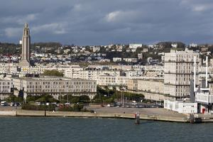 Downtown Le Havre, Normandy, France, Europe by Richard Cummins
