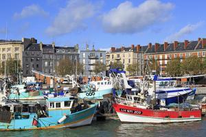 Fishing Fleet in Le Havre, Normandy, France, Europe by Richard Cummins