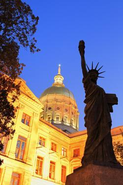 Georgia State Capitol, Atlanta, Georgia, United States of America, North America by Richard Cummins