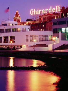 Ghirardelli Square, Fisherman's Wharf, San Francisco, United States of America by Richard Cummins