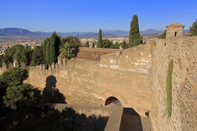 Gibralfaro Castle, Malaga, Andalusia, Spain, Europe by Richard Cummins