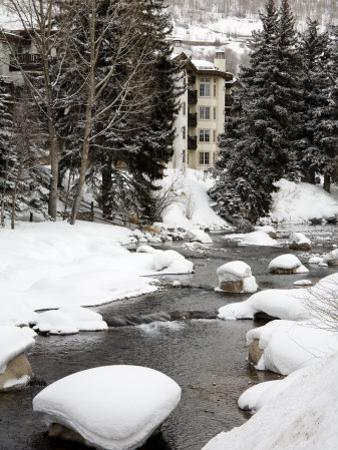 Gore Creek, Vail Ski Resort, Rocky Mountains, Colorado, United States of America, North America by Richard Cummins