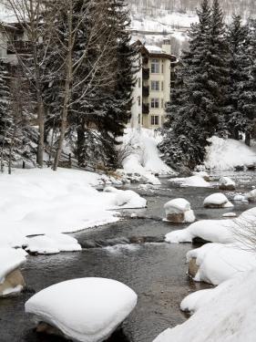 Gore Creek, Vail Ski Resort, Rocky Mountains, Colorado, United States of America, North America by Richard Cummins