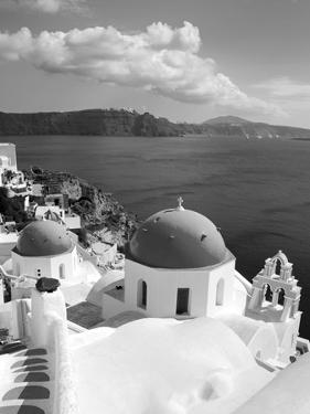Greek Orthodox Church in Oia Village, Santorini Island, Cyclades, Greek Islands, Greece, Europe by Richard Cummins