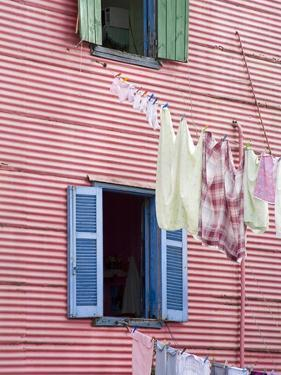 Houses in La Boca District, Buenos Aires City, Argentina, South America by Richard Cummins