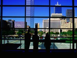 Interior of Convention Center, Dallas, Texas by Richard Cummins