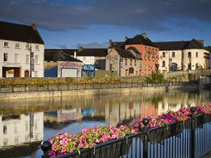 John's Quay and River Nore, Kilkenny City, County Kilkenny, Leinster, Republic of Ireland, Europe by Richard Cummins