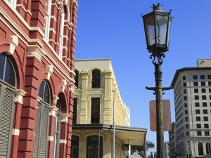 Kempner Street, Historic Strand District, Galveston, Texas, United States of America, North America by Richard Cummins