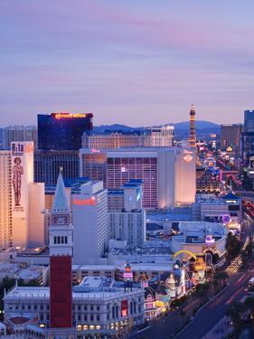 Las Vegas Strip Skyline, Las Vegas, Nevada, United States of America, North America by Richard Cummins