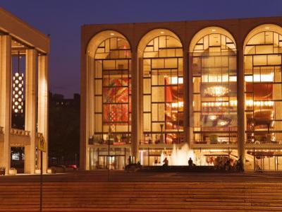 Lincoln Center, Upper West Side, Manhattan, New York City, New York, USA by Richard Cummins