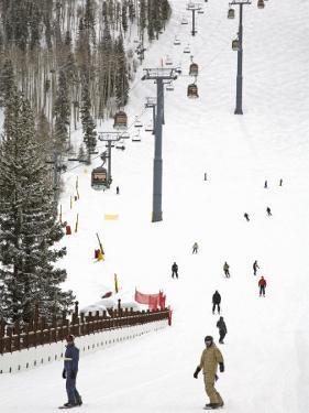 Lions Head Village Ski Run, Vail Ski Resort, Rocky Mountains, Colorado, USA by Richard Cummins