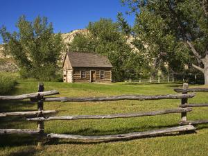 Maltese Cross Cabin, Theodore Roosevelt National Park, Medora, North Dakota, USA by Richard Cummins