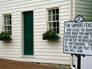 Mark Twain Boyhood Home and Museum, Hannibal, Missouri by Richard Cummins