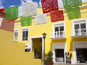 Mercado de Artesanias in Plaza del Sol, San Miguel City, Cozumel Island, Quintana Roo, Mexico by Richard Cummins