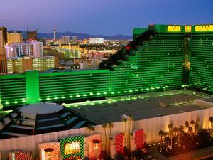 Mgm Casino, Las Vegas, Nevada by Richard Cummins