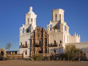Mission San Xavier Del Bac, Tucson, Arizona, United States of America, North America by Richard Cummins