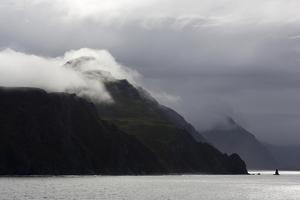 Mount Ballyhoo, Dutch Harbor, Amaknak Island, Aleutian Islands, Alaska, USA, North America by Richard Cummins