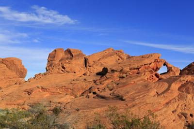 Natural Arch, Valley of Fire State Park, Overton, Nevada, United States of America, North America by Richard Cummins