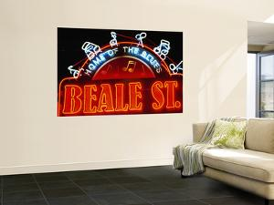Neon Sign on Beale Street, Memphis, Tennessee by Richard Cummins