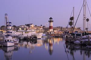 Oceanside Harbor Village Lighthouse by Richard Cummins