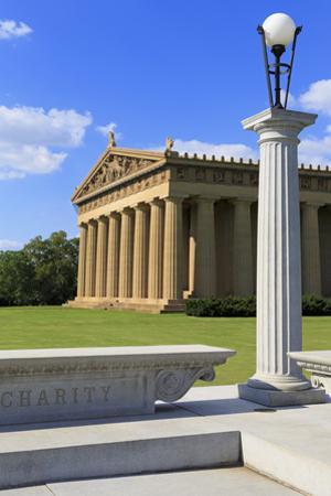Parthenon in Centennial Park, Nashville, Tennessee, United States of America, North America