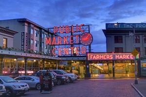 Pike Place Market, Seattle, Washington State, United States of America, North America by Richard Cummins