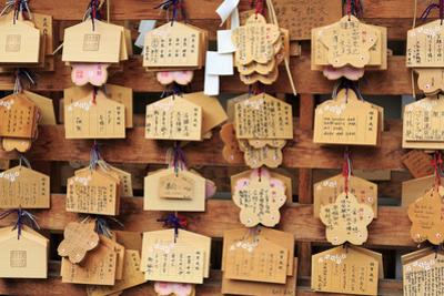 Prayers, Yasukuni-Jinga Shrine, Tokyo, Japan, Asia by Richard Cummins